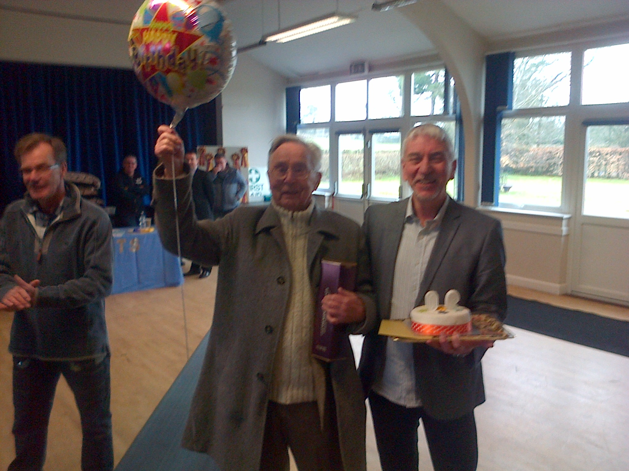 Alan Mitchell's 90th with Martin Grimwood